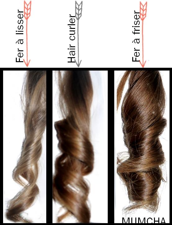 appareil a boucle cheveux