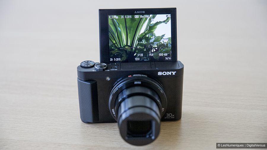 appareil photo selfie sony