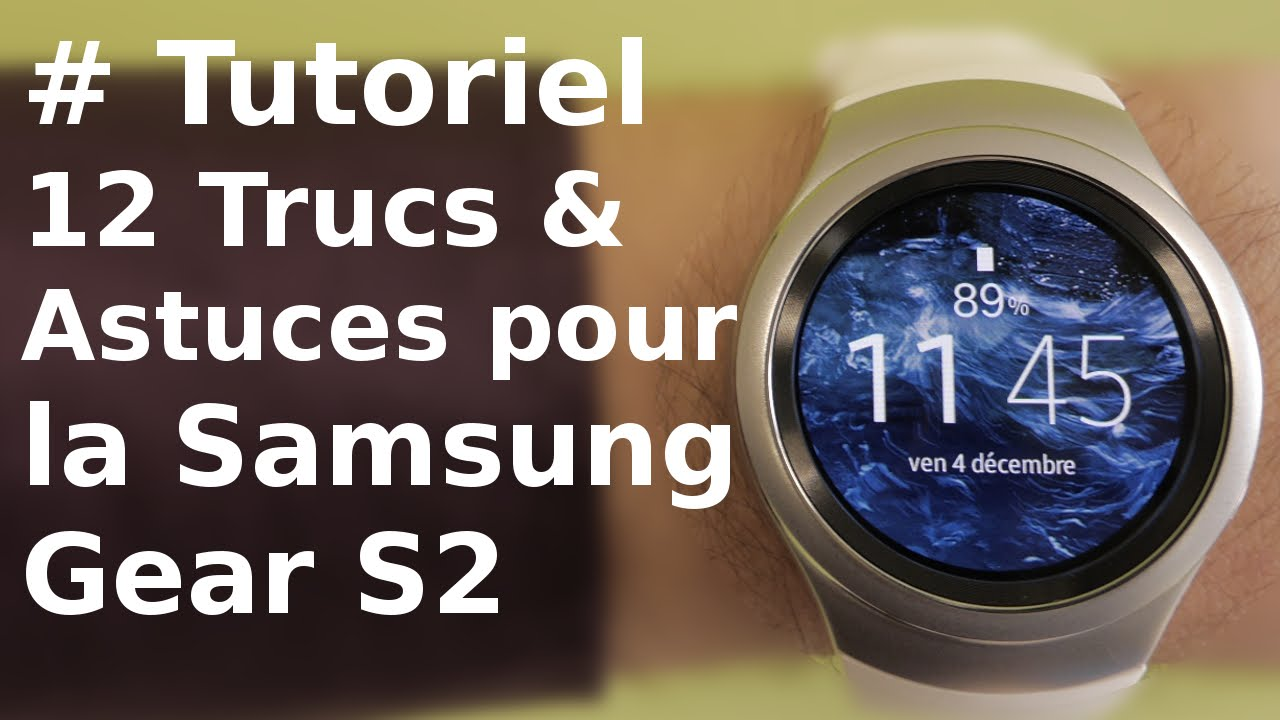 application pour gear 2