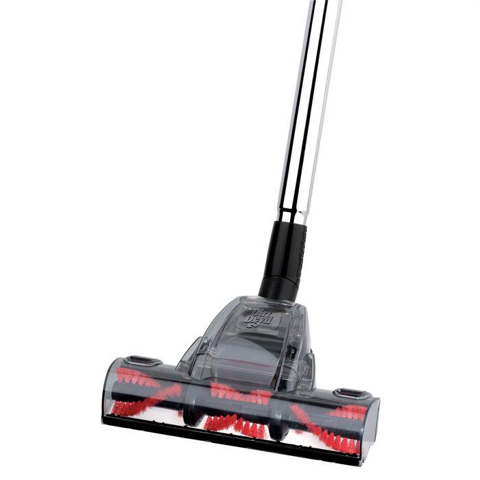 aspirateur avec brosse rotative