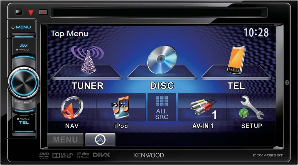 autoradio dvd kenwood