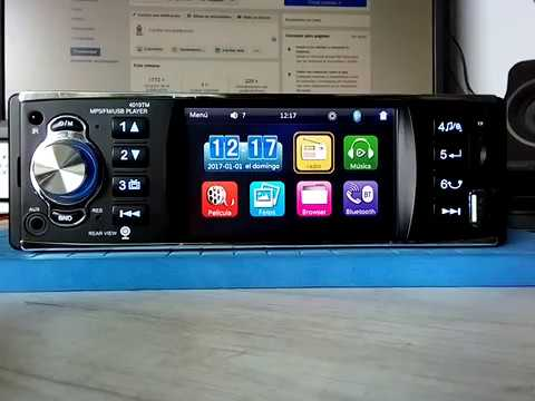 autoradio mirrorlink 1 din