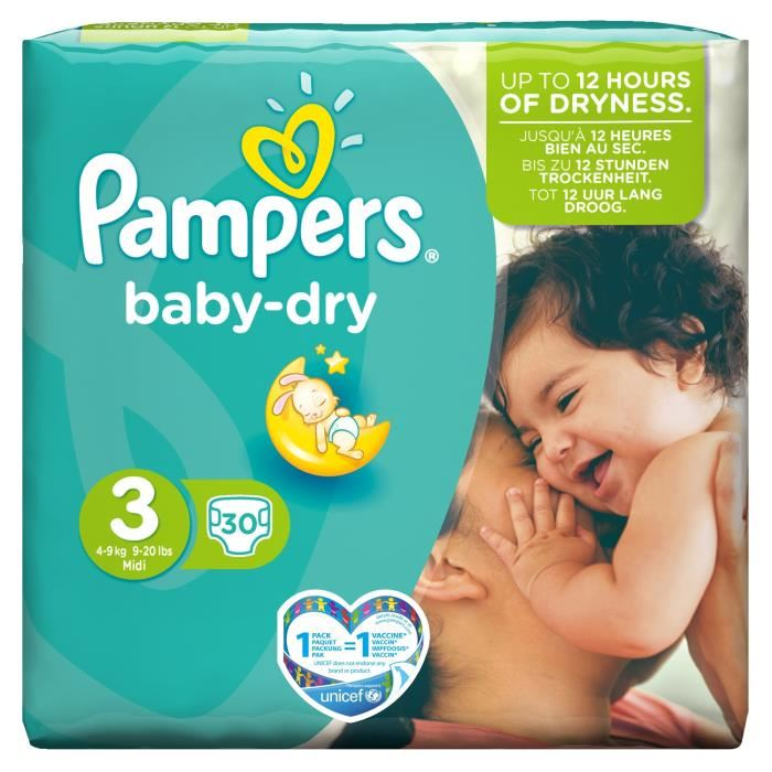 baby dry taille 3