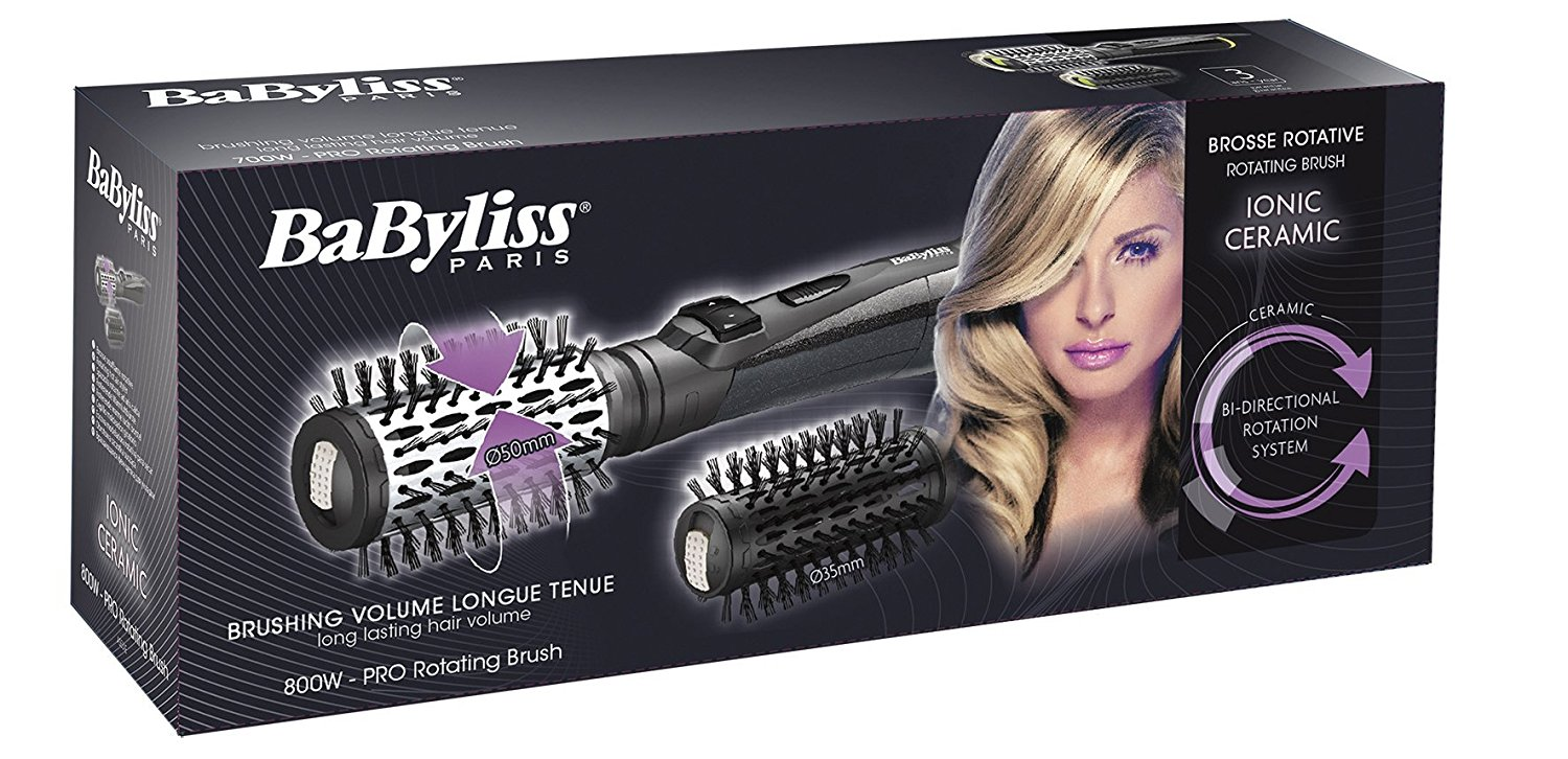 babyliss brosse soufflante rotative