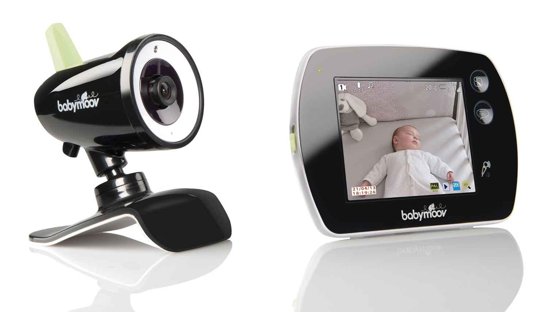 babyphone vidéo touch screen