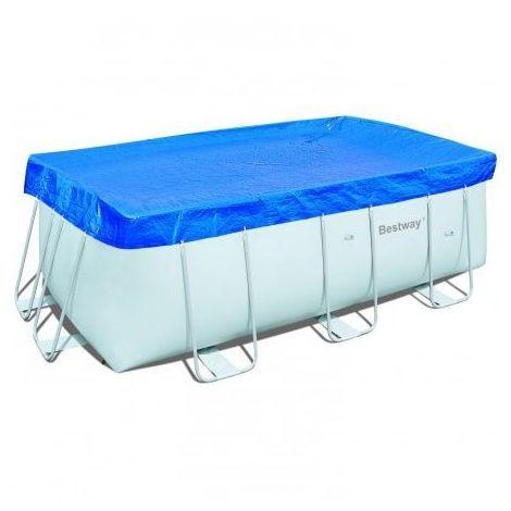 bache piscine hors sol rectangulaire bestway