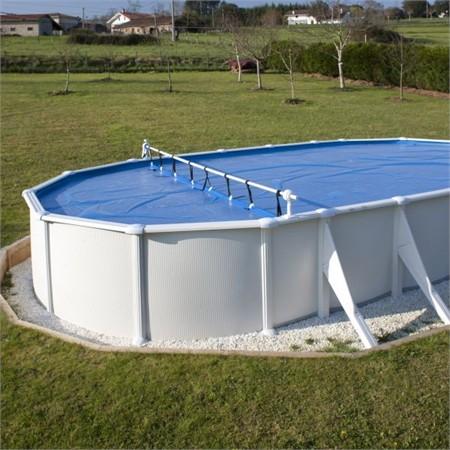 bache pour piscine hors sol ovale