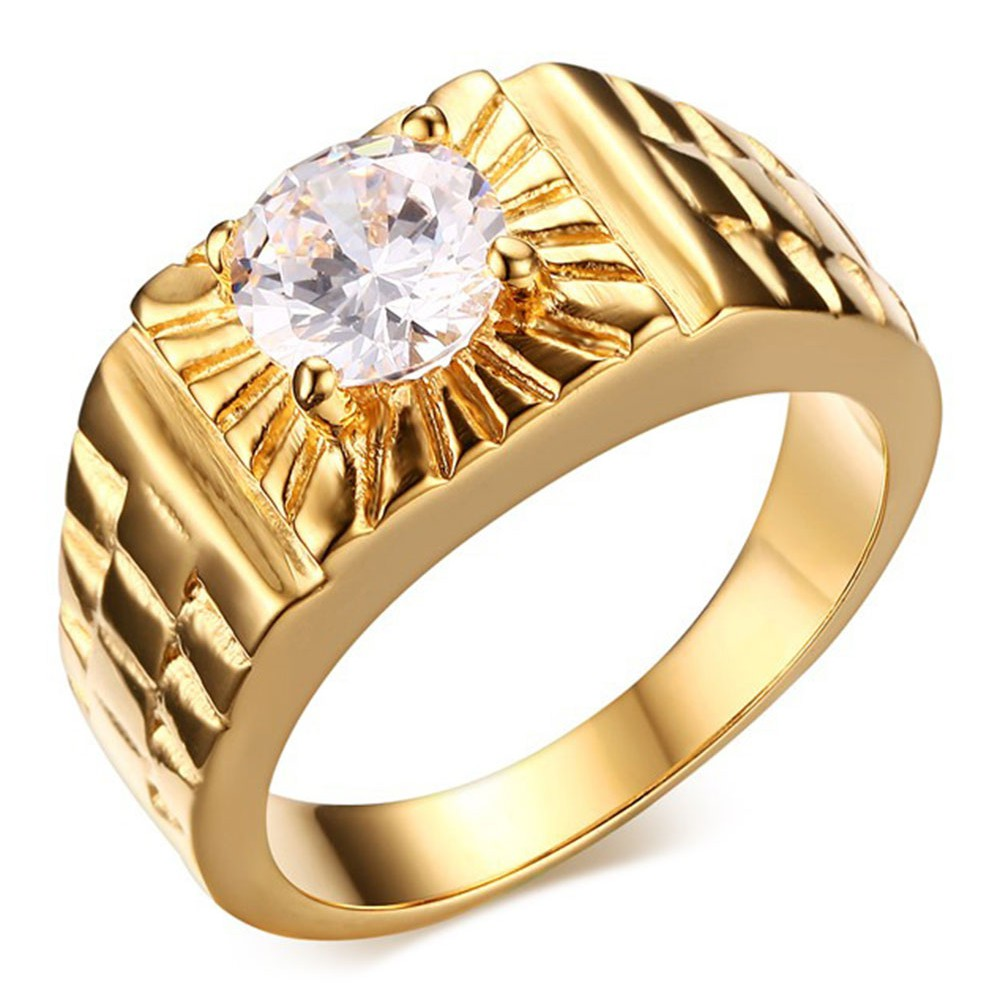 bague chevaliere homme or