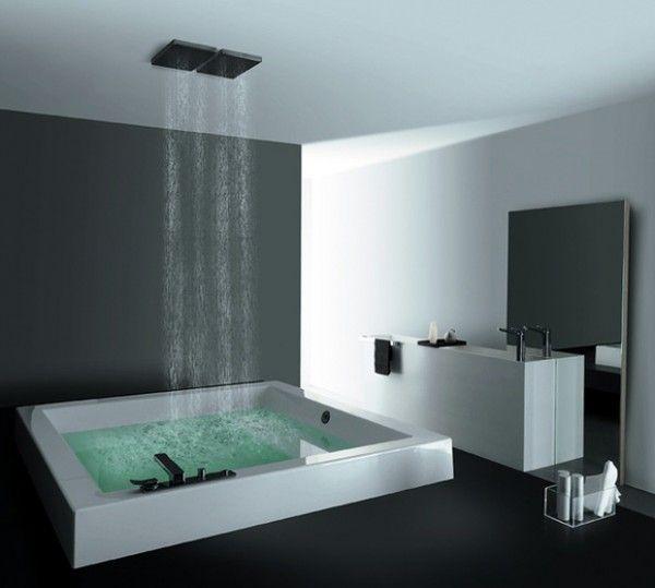 baignoire douche carrée