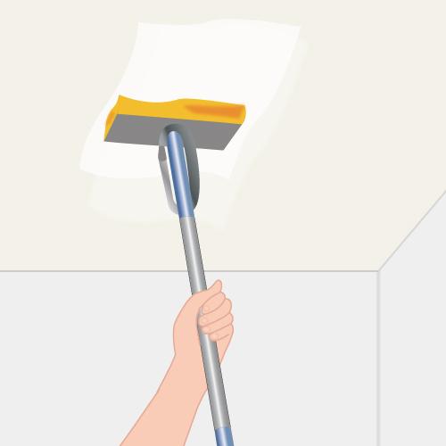 balai nettoyage plafond