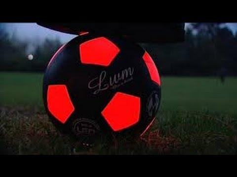 ballon foot lumineux