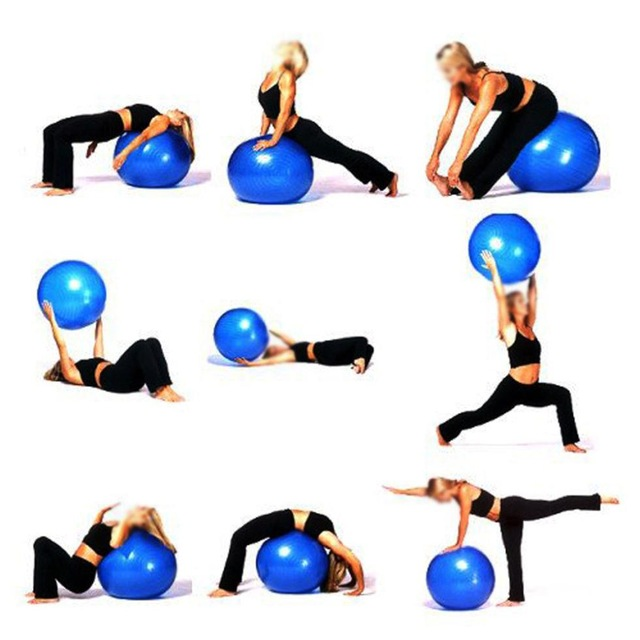 ballon yoga exercices