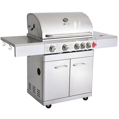 barbecue a gaz inox