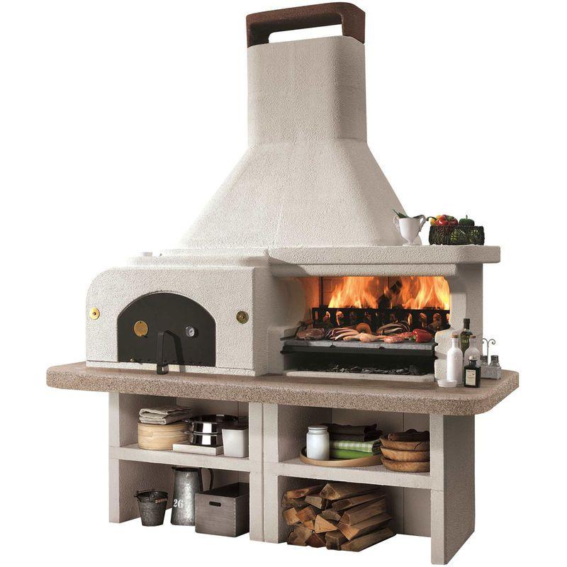 barbecue four a pizza en pierre