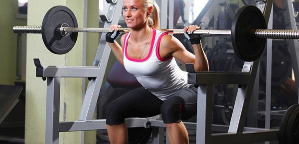 barre de musculation squat