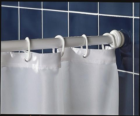 barre pour rideau de douche extensible