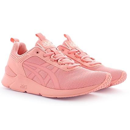 basket asics femme rose