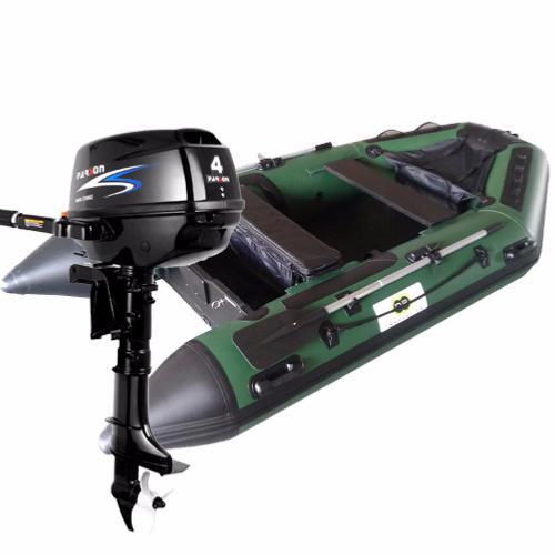 bateau de peche gonflable avec moteur