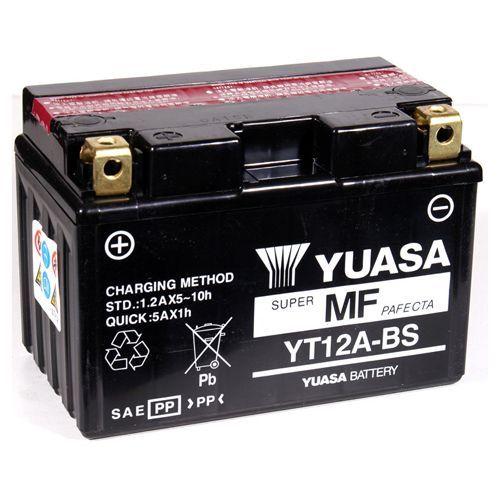 batterie moto yuasa yt12a bs