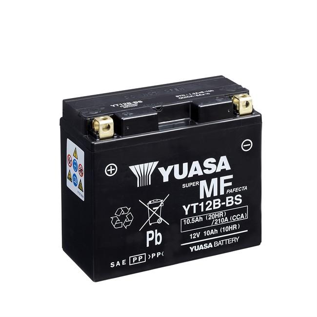 batterie moto yuasa yt12b bs