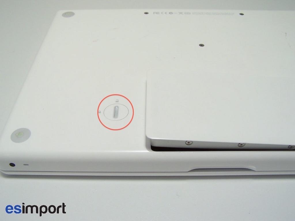 batterie pour macbook blanc