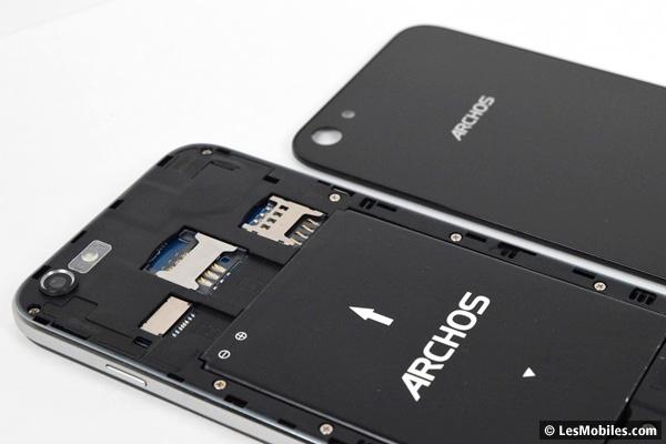 batterie smartphone archos