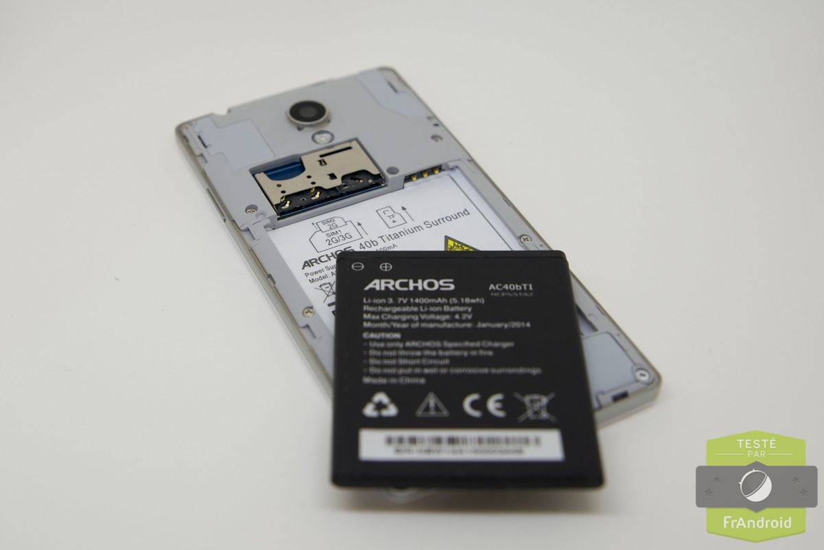 batterie telephone portable archos