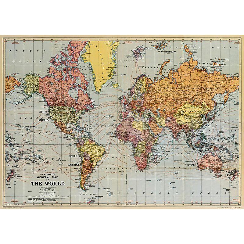 belle carte du monde