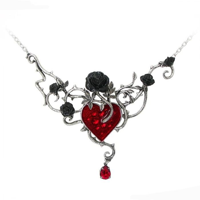 bijoux gothique femme