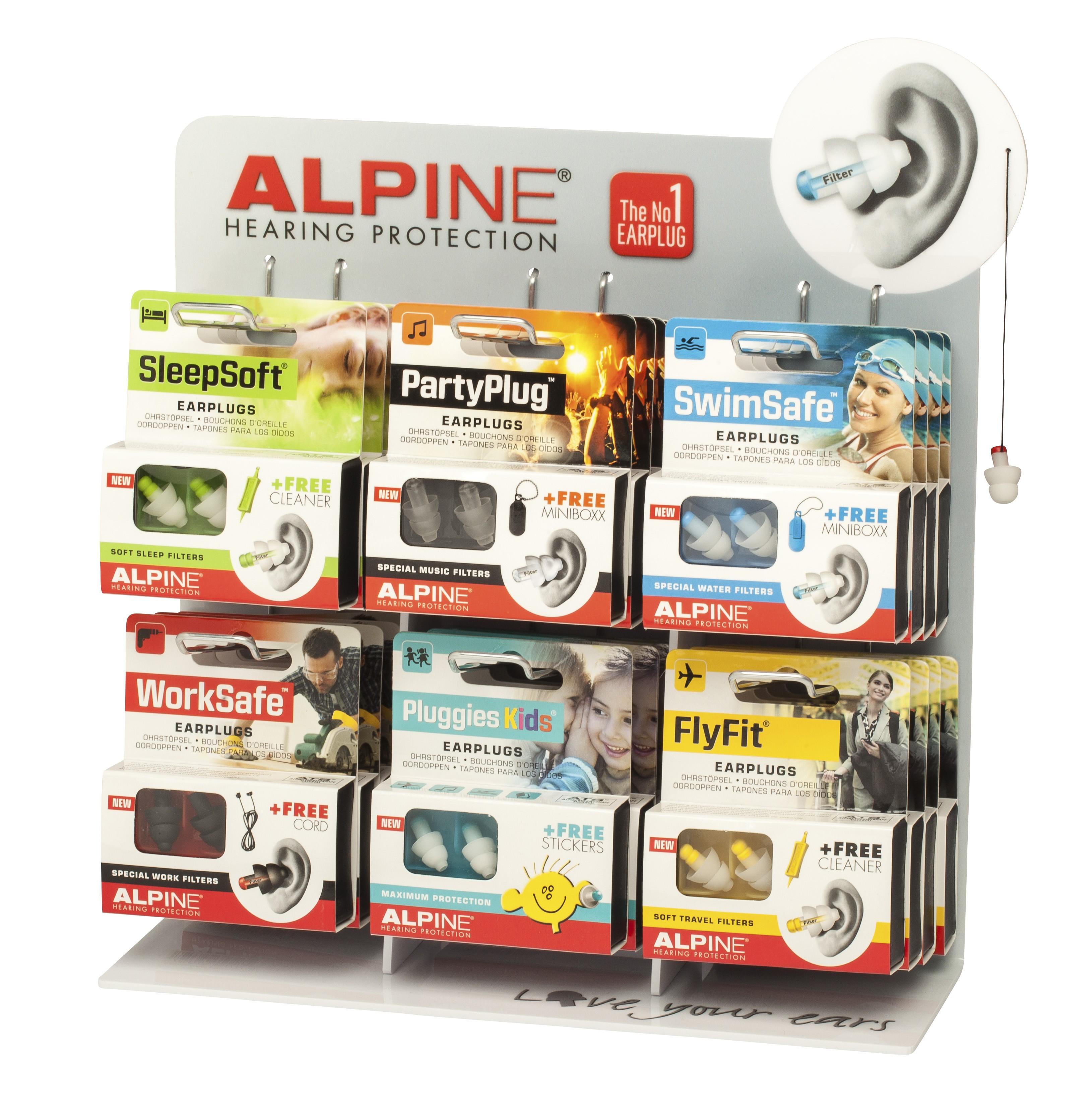 bouchon oreille alpine