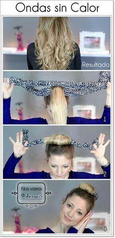 boucler cheveux sans fer