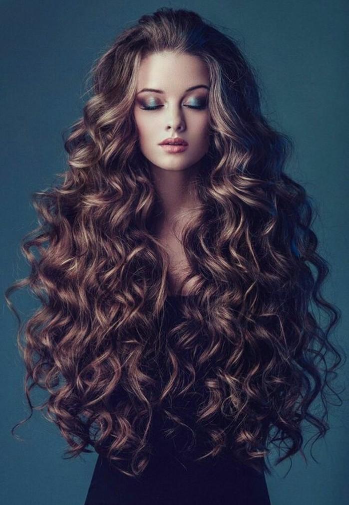 boucler les cheveux