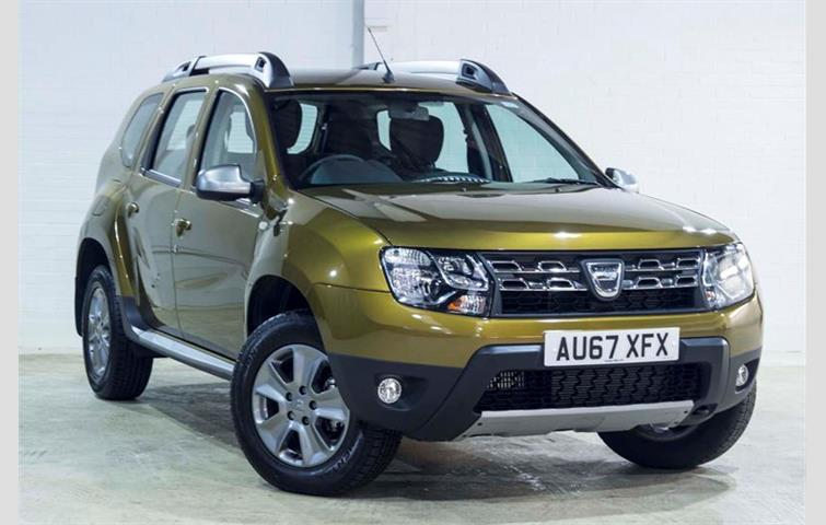 dacia duster green