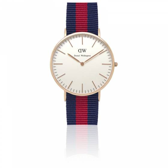 daniel wellington bleu rouge