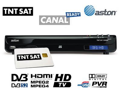 decodeur canal ready hd satellite