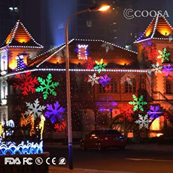 decoration noel exterieur projecteur