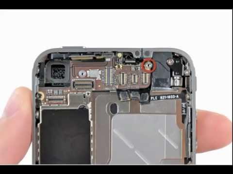 demonter iphone 4