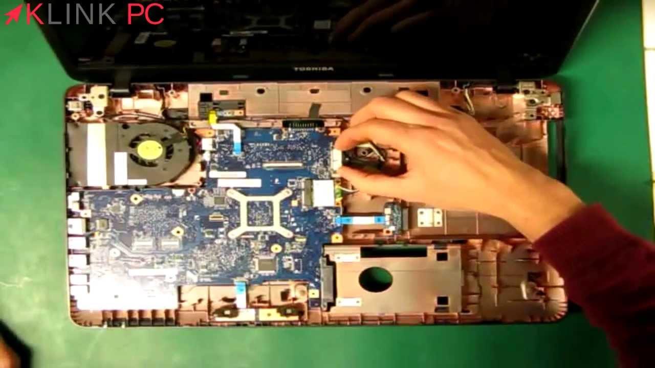 demonter ordinateur portable toshiba