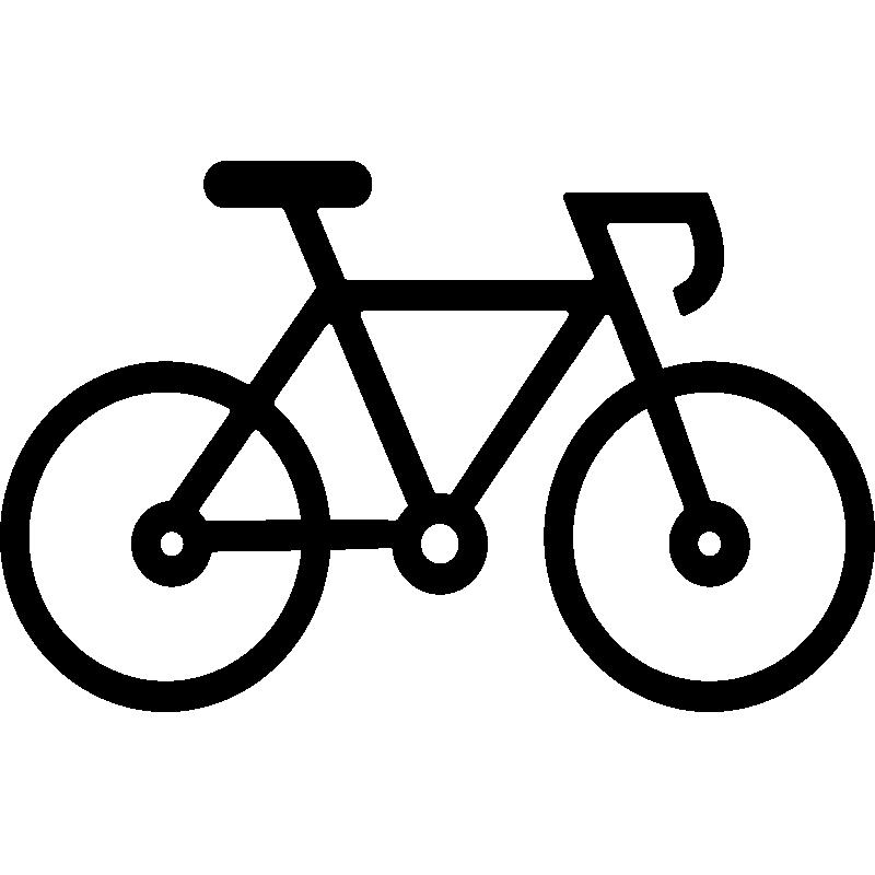 dessin de velo de course