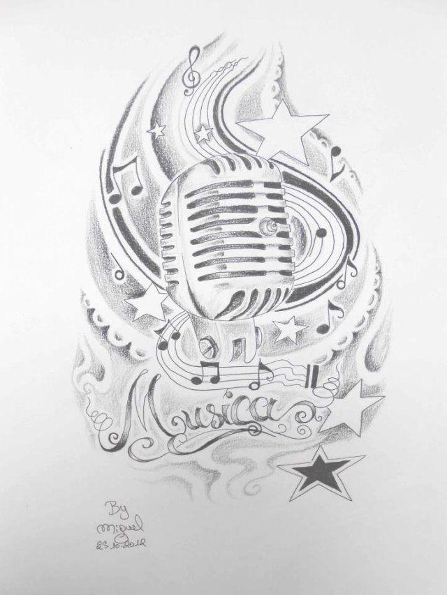 dessin micro tattoo