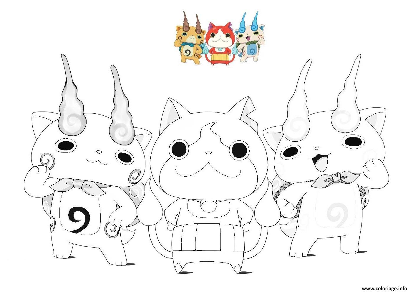 dessin yo kai watch 3