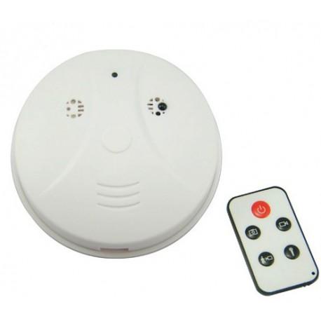 détecteur de fumée caméra espion