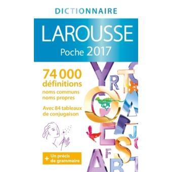 dictionnaire larousse de poche