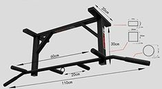dimension barre fixe musculation