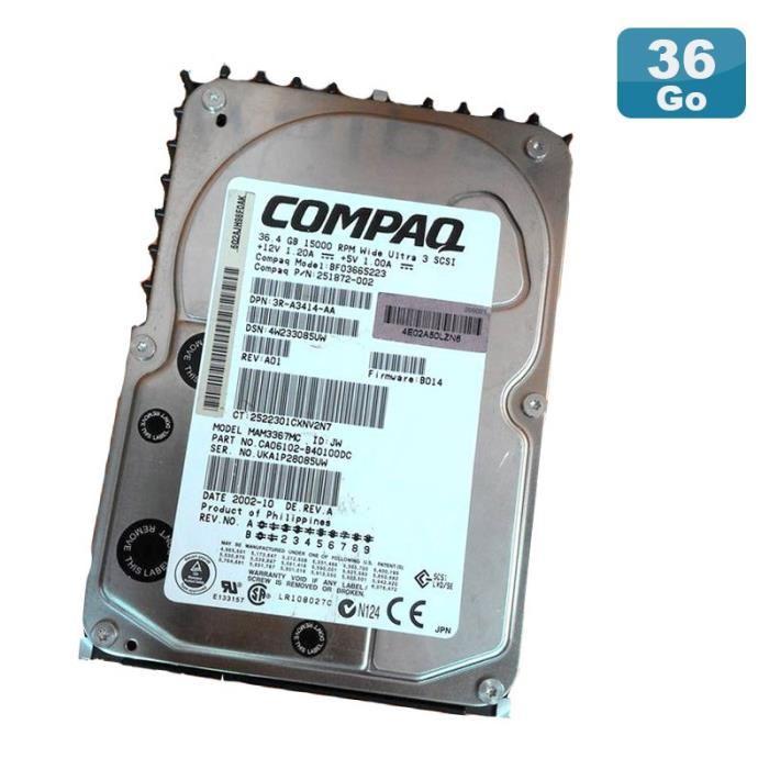 disque dur compaq