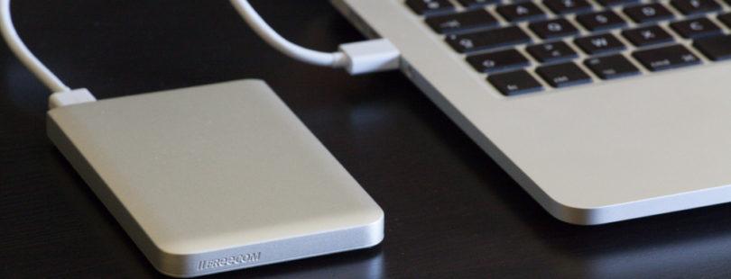 disque dur externe et mac