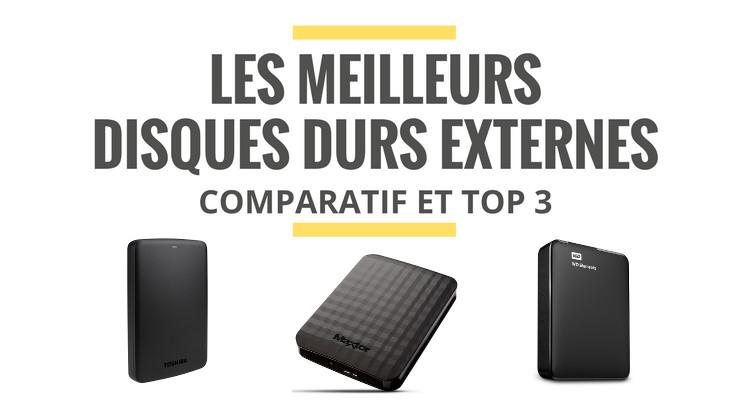 disque dur externe fiable