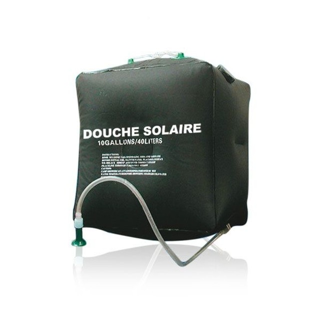 douche solaire camping 40l