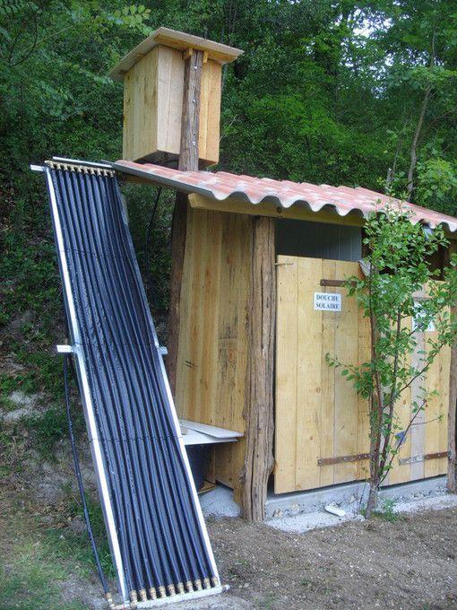 douche solaire diy