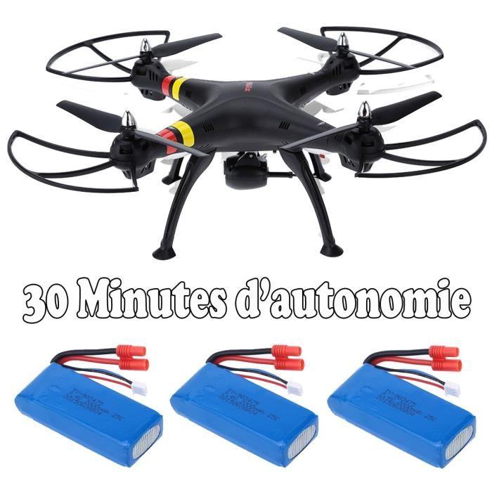 drone autonomie 30 min
